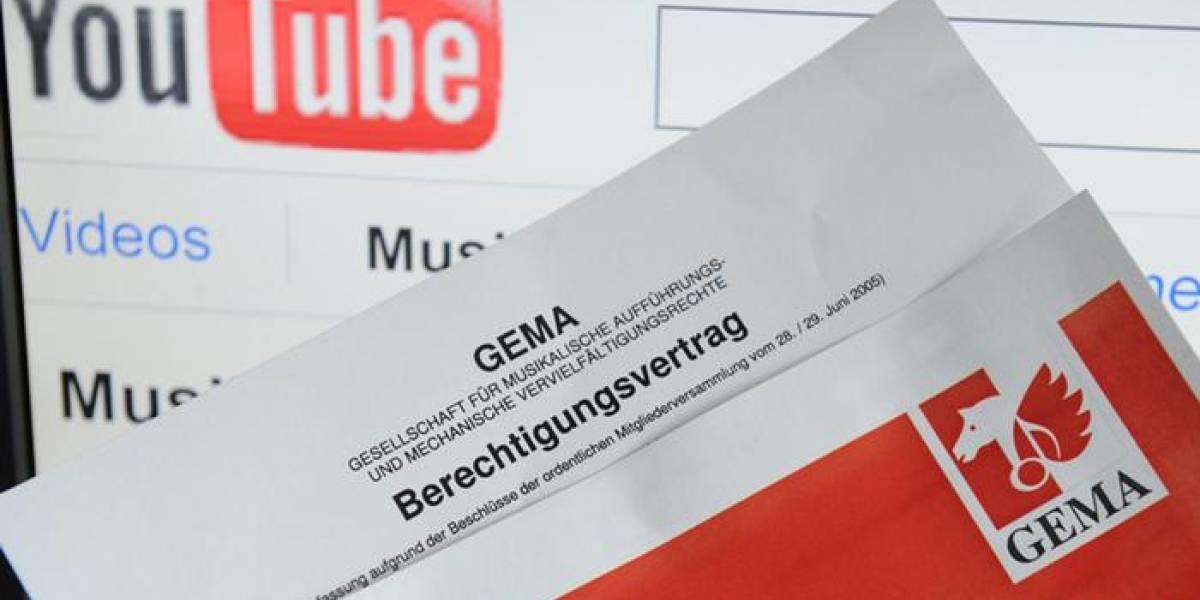 Youtube pierde juicio en Alemania por derechos de autor