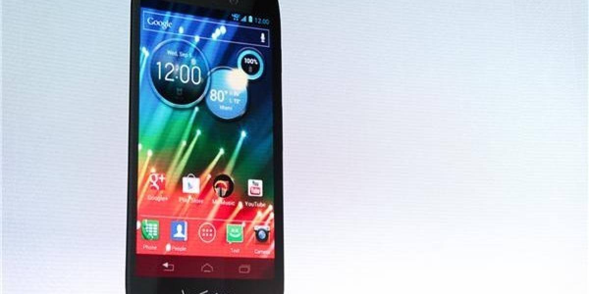 Motorola introduce al mercado el Droid RAZR HD