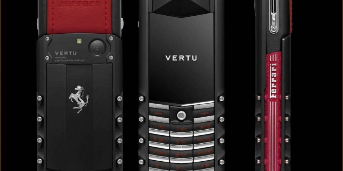 Nokia busca comprador para Vertu, su marca de teléfonos de lujo