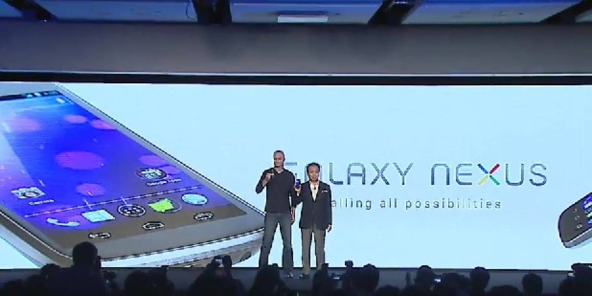 Google y Samsung lanzan oficialmente el Galaxy Nexus con Android Ice Cream Sandwich