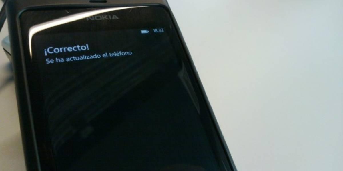 Nokia libera una nueva actualización de sistema para el Lumia 800