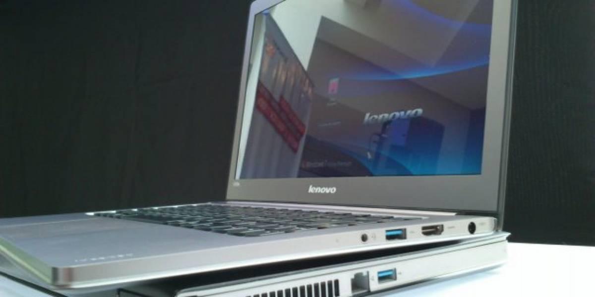 Argentina: Lenovo e Intel presentaron las ultrabooks U300s y U400 para bolsillos privilegiados