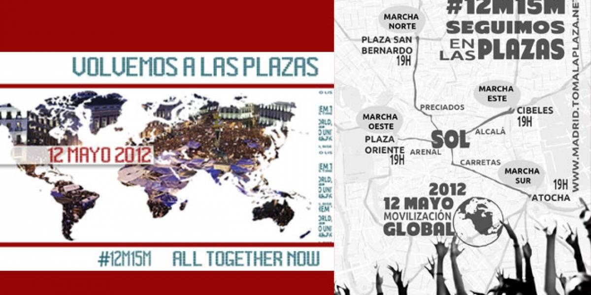 España: Si el #12M15M hay protestas cerca de tu casa #AbreTuWiFi