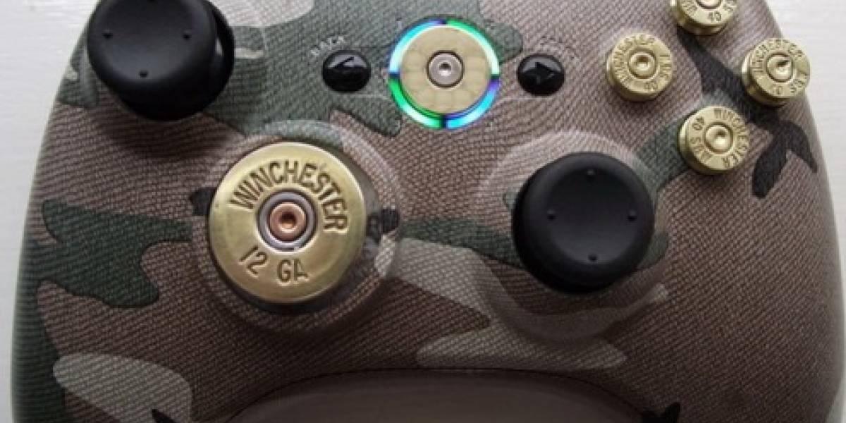 Balas (reales) en tus controles de Xbox 360