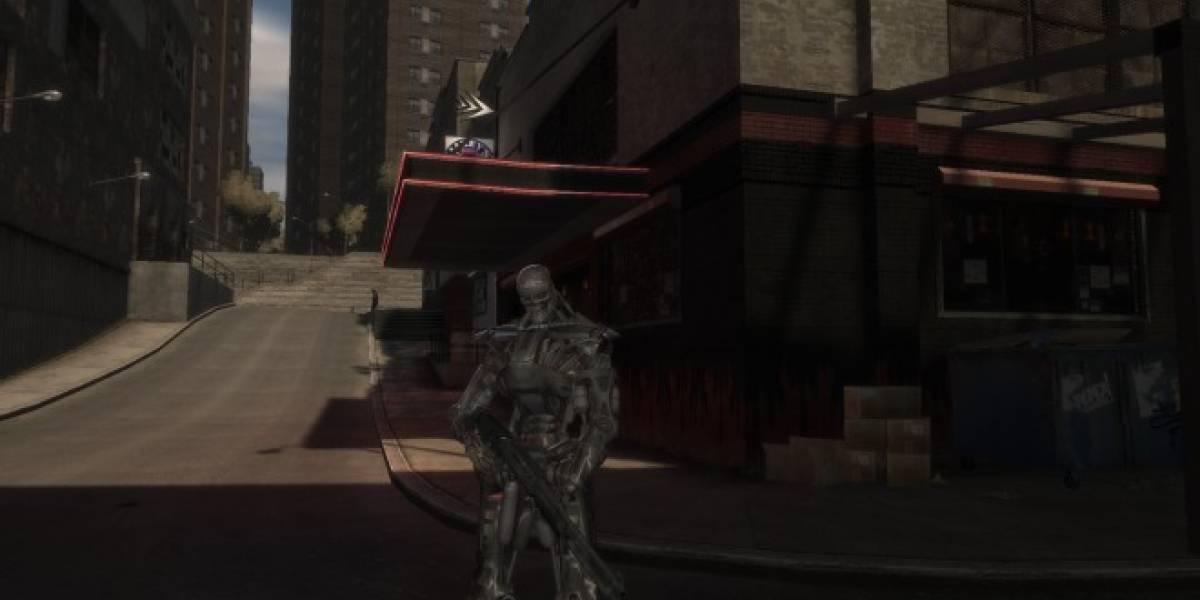 Sustituye a Niko Bellic por Terminator y adelanta el Día del Juicio en GTA IV