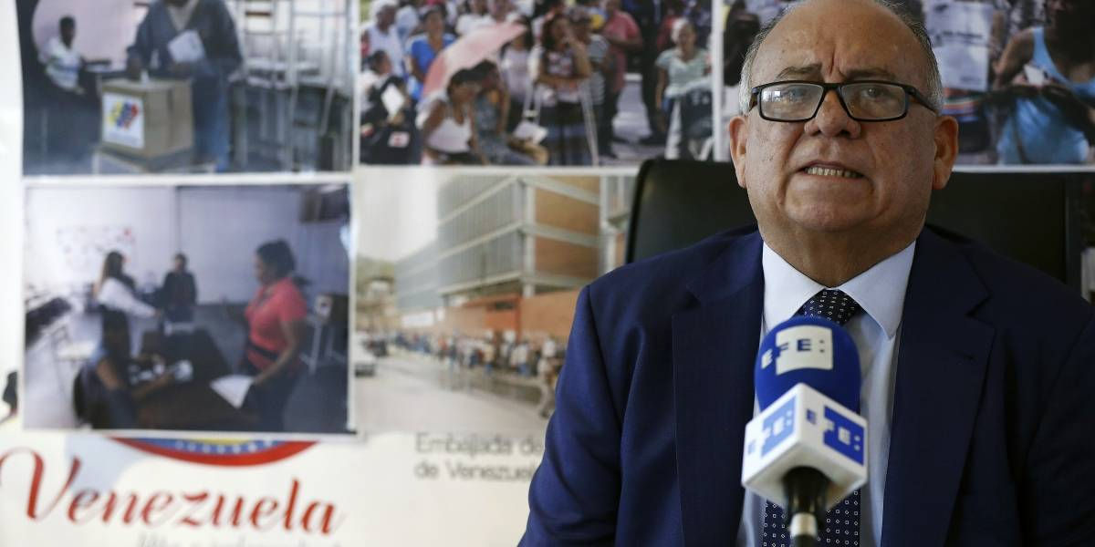 España declara 'persona non grata' a embajador de Venezuela