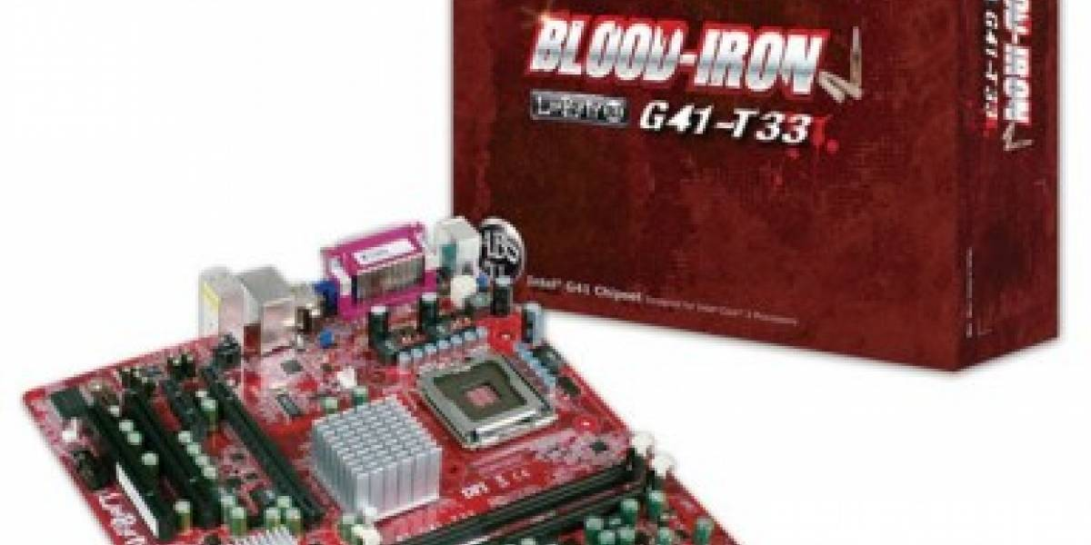 DFI presenta Blood Iron G41-T33