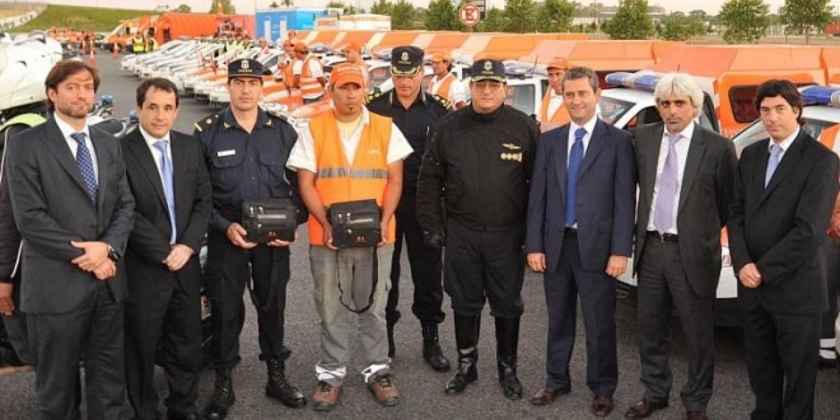 Argentina: Inspectores y policía de seguridad vial podrán labrar multas por medio de un smartphone