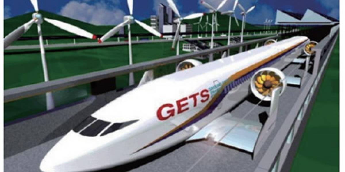 Japoneses crean prototipo de tren que levita sin usar imanes