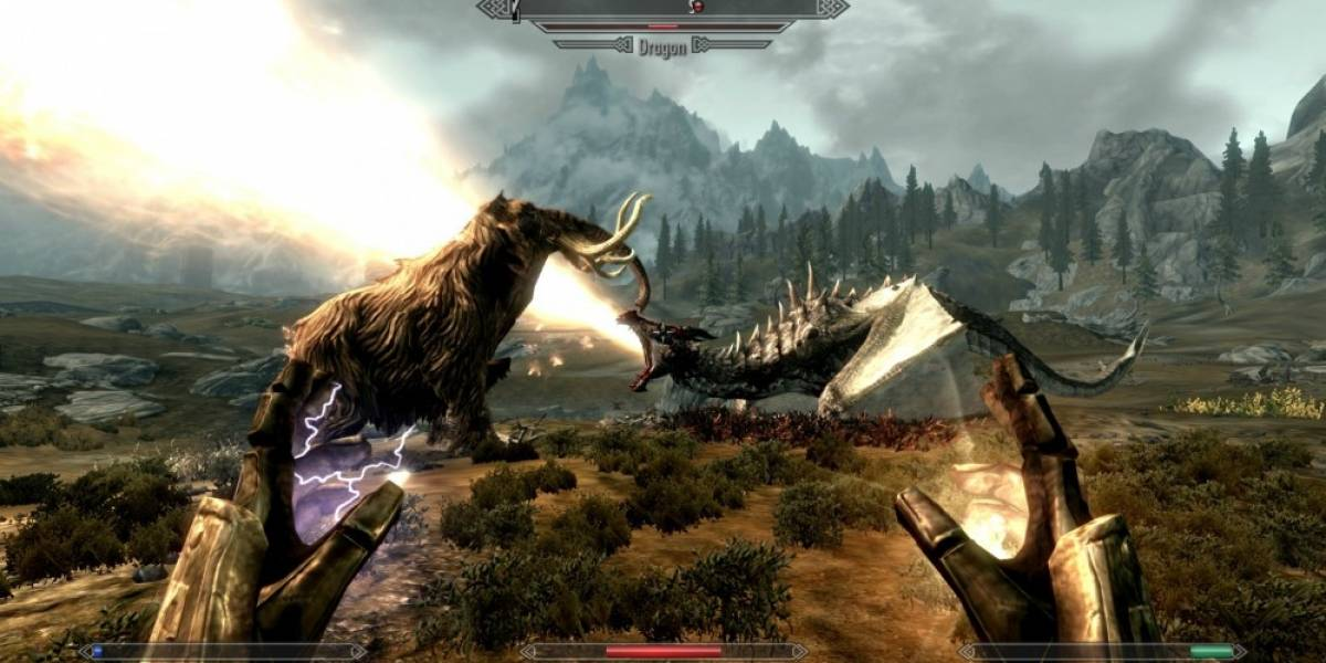 The Elder Scrolls V: Skyrim le patea el trasero a Modern Warfare 3 en Steam