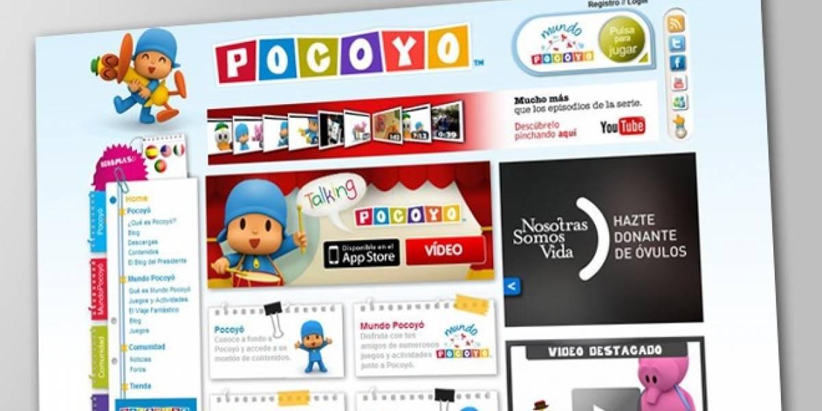 Habla, juega y hazle cosquillas a Pocoyó desde tu iOS
