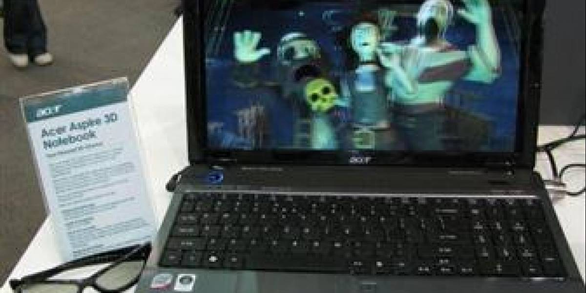 Acer lanzará notebook 3D este año