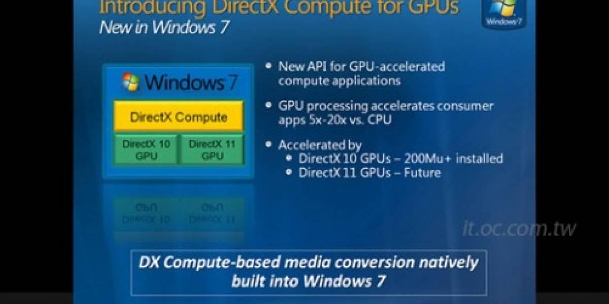 NVIDIA oficializa su soporte de DirectX Compute en Windows 7