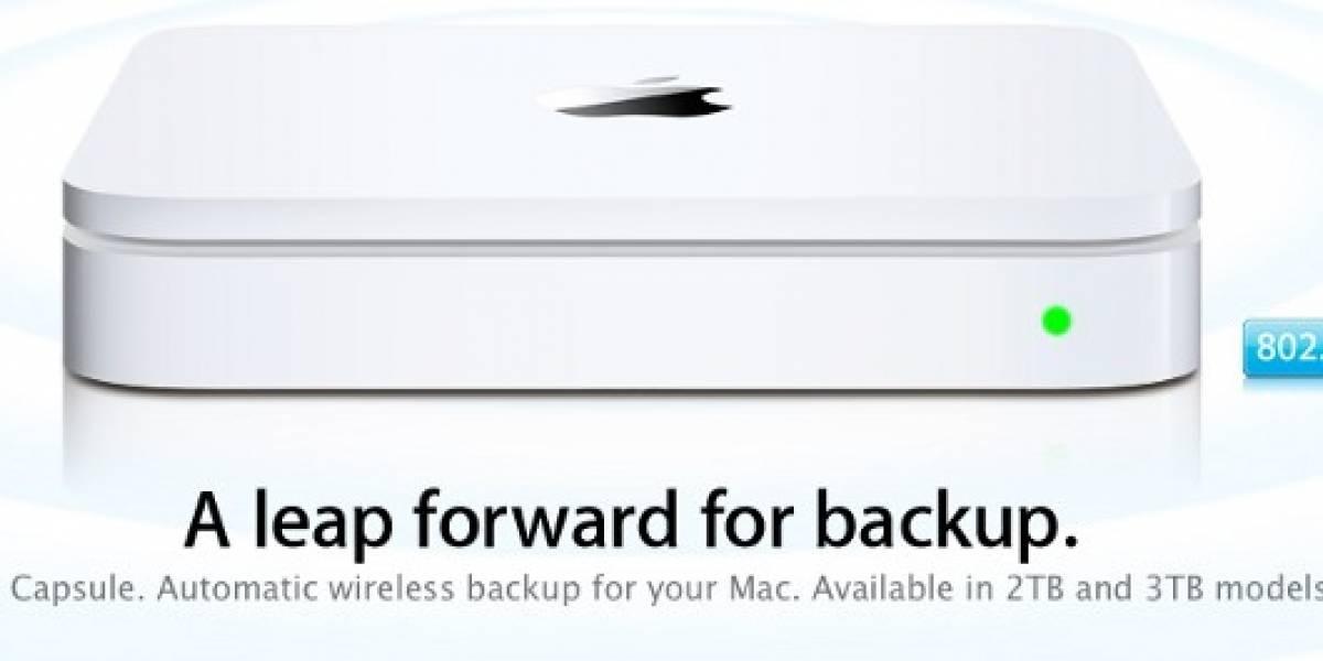 Apple actualiza su Time Capsule, más capacidad mismo precio