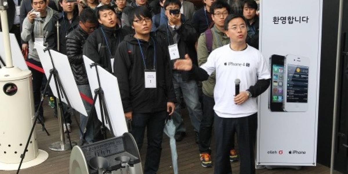 Apple lanzó el iPhone 4S en Corea del Sur