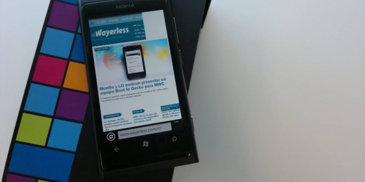 Nokia Lumia 800 hace su arribo al catálogo de las operadoras chilenas