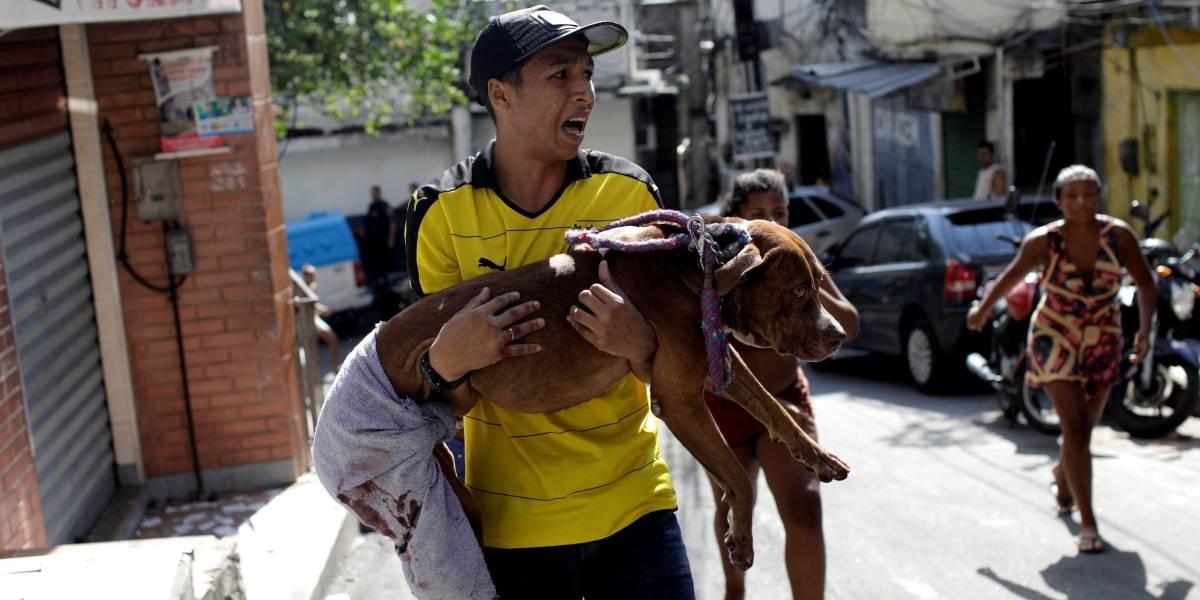 Rio tem dia de terror com tiroteio intenso na Rocinha; veja imagens