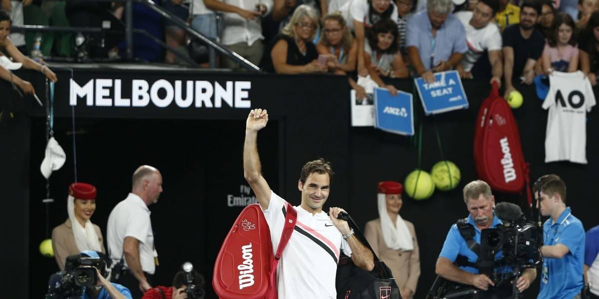 Chung abandona e Federer disputará na Austrália a sua 30ª final de Grand Slam