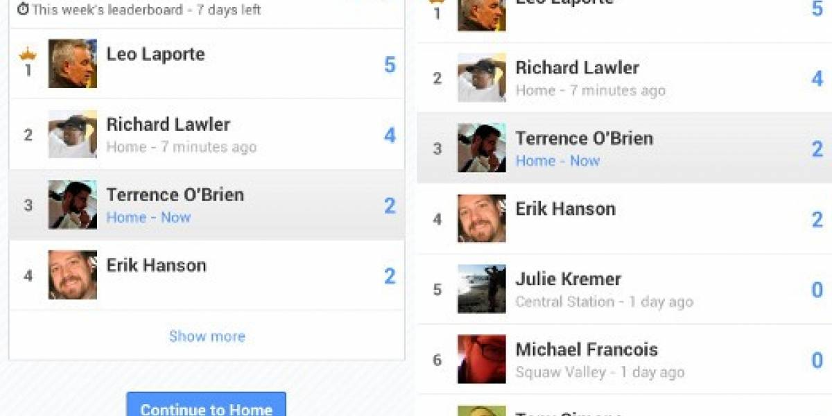 Google lanza Latitude Leaderboards para competir con Foursquare