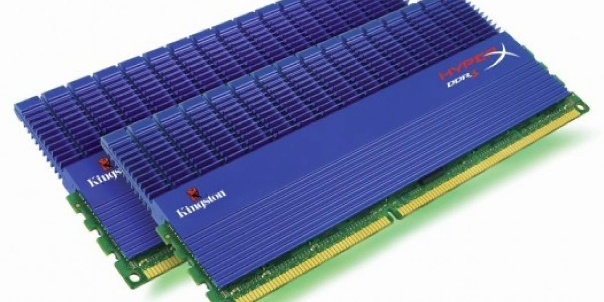 Kingston prepara lanzamiento de HiperX DDR3 Dual Channel 2133MHz
