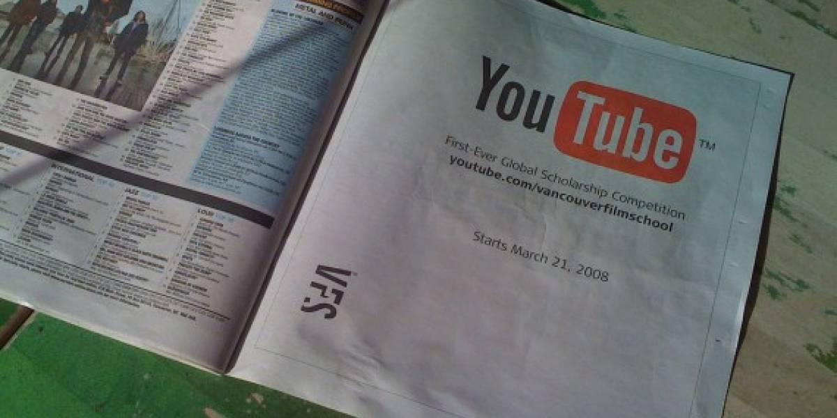Aplicación de YouTube para móviles ahora tendrá publicidad