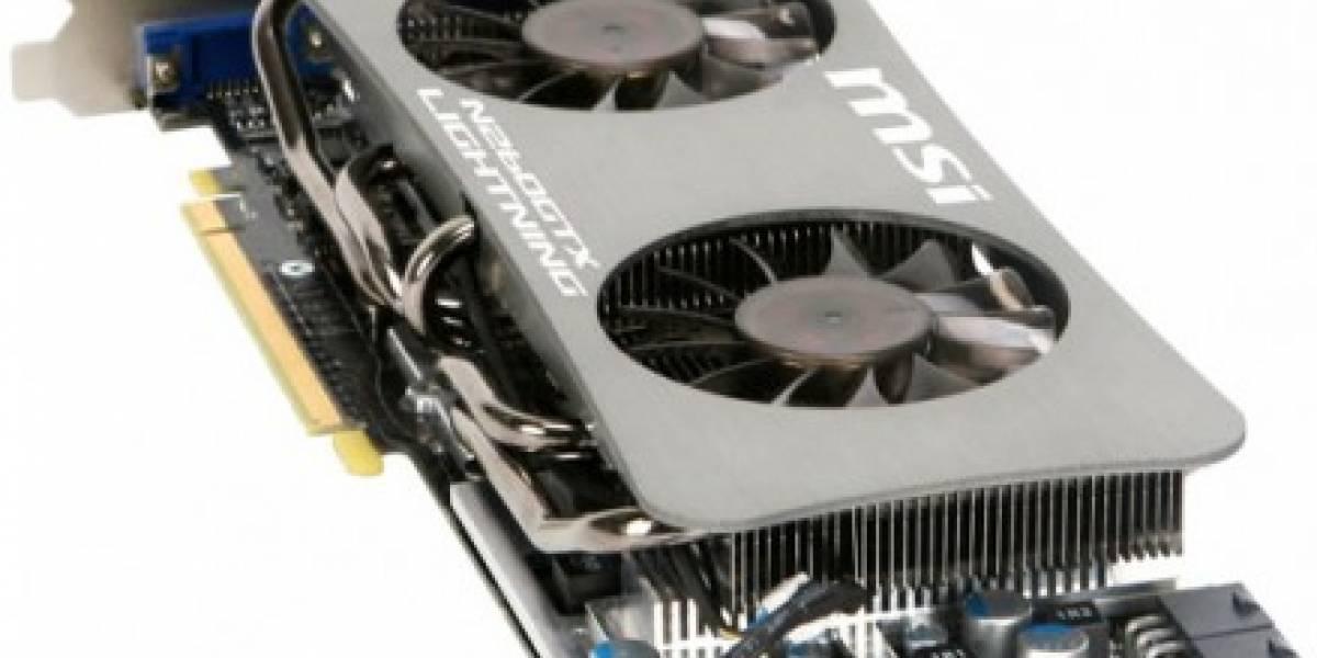 MSI N260GTX Lightning Strikes alcanza 1.1 GHz en núcleo