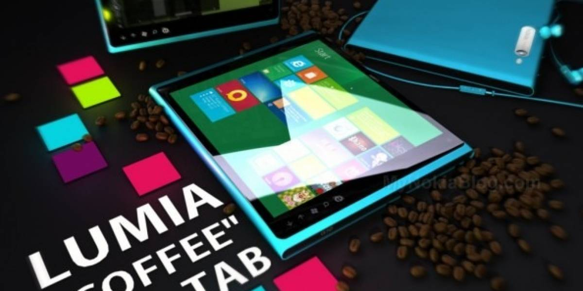 Nokia Lumia Coffee Tab, un concepto con Windows 8