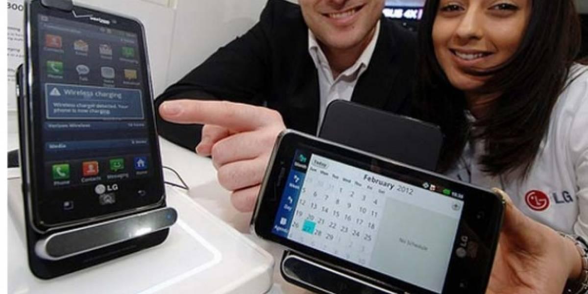 MWC12: LG presentó un cargador por inducción para sus nuevos modelos