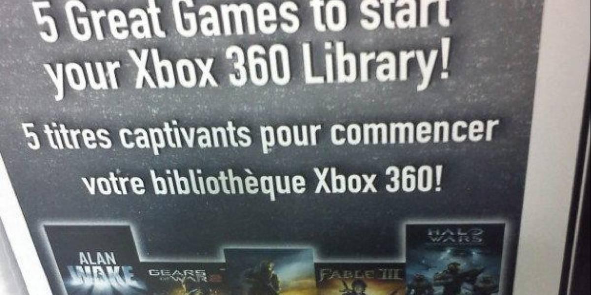 Xbox 360 estrena nuevo bundle