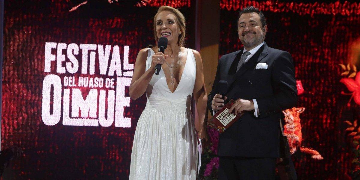TVN y Mega disputan codo a codo el rating en la primera noche del Festival de Olmué