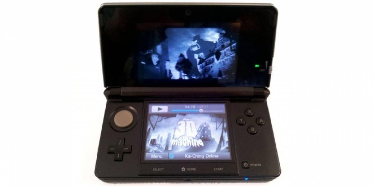 Nintendo empieza a vender contenido audiovisual para su 3DS