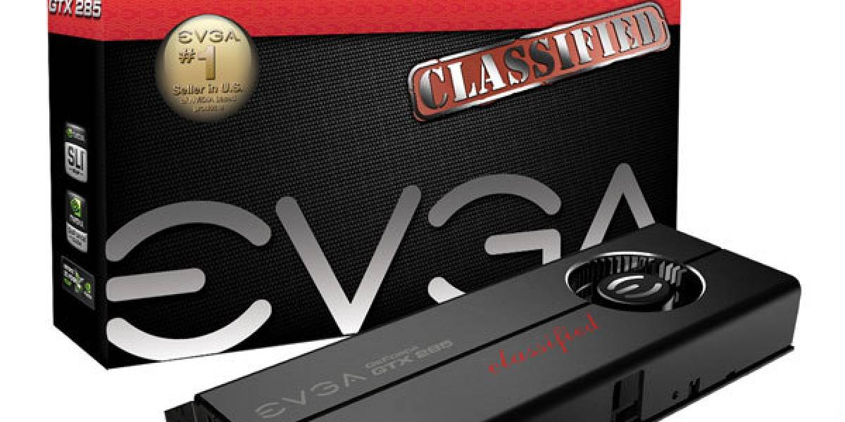 EVGA lanza GTX285 Classified