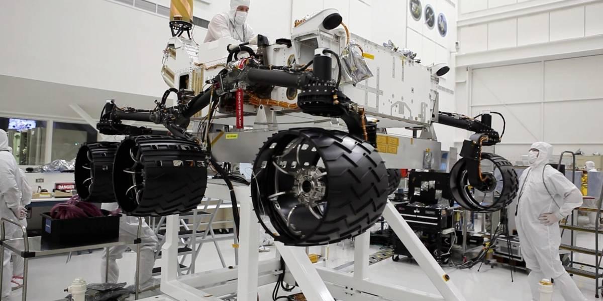 La NASA evalúa dónde aterrizará el rover Curiosity
