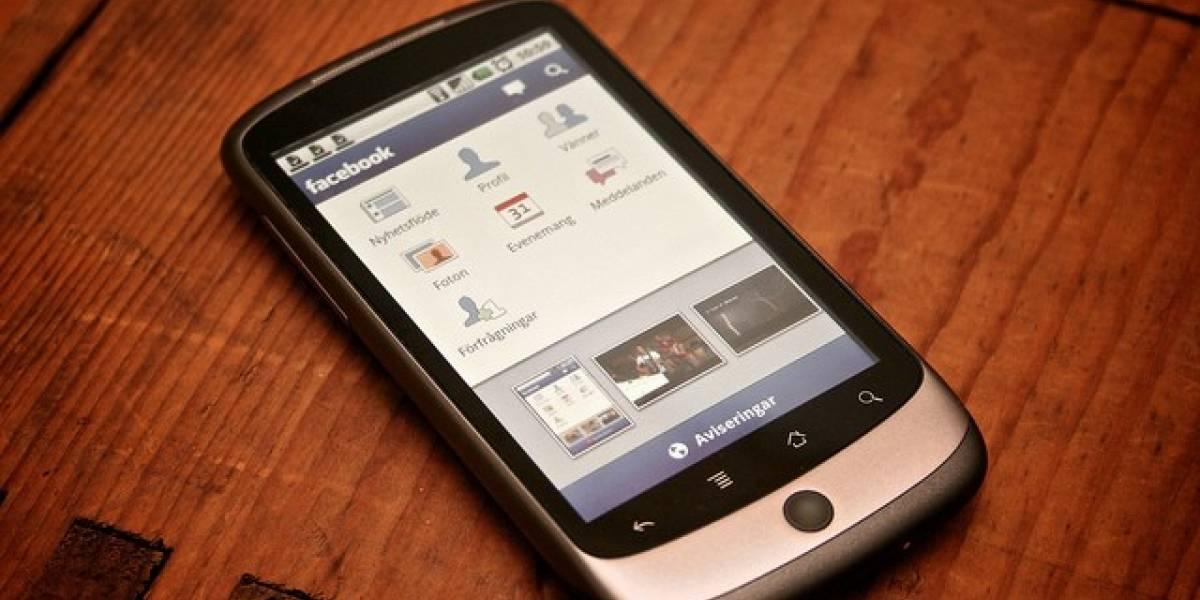Facebook actualiza su versión móvil para Android sin mejoras sustanciales