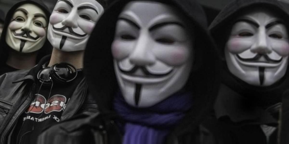 Nuevo ataque de Anonymous a sitio gubernamental de China