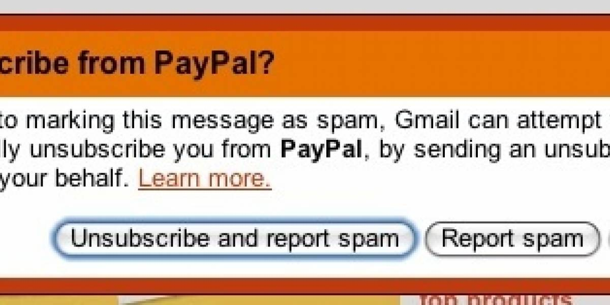 Gmail te desinscribe de listas de correo con un click