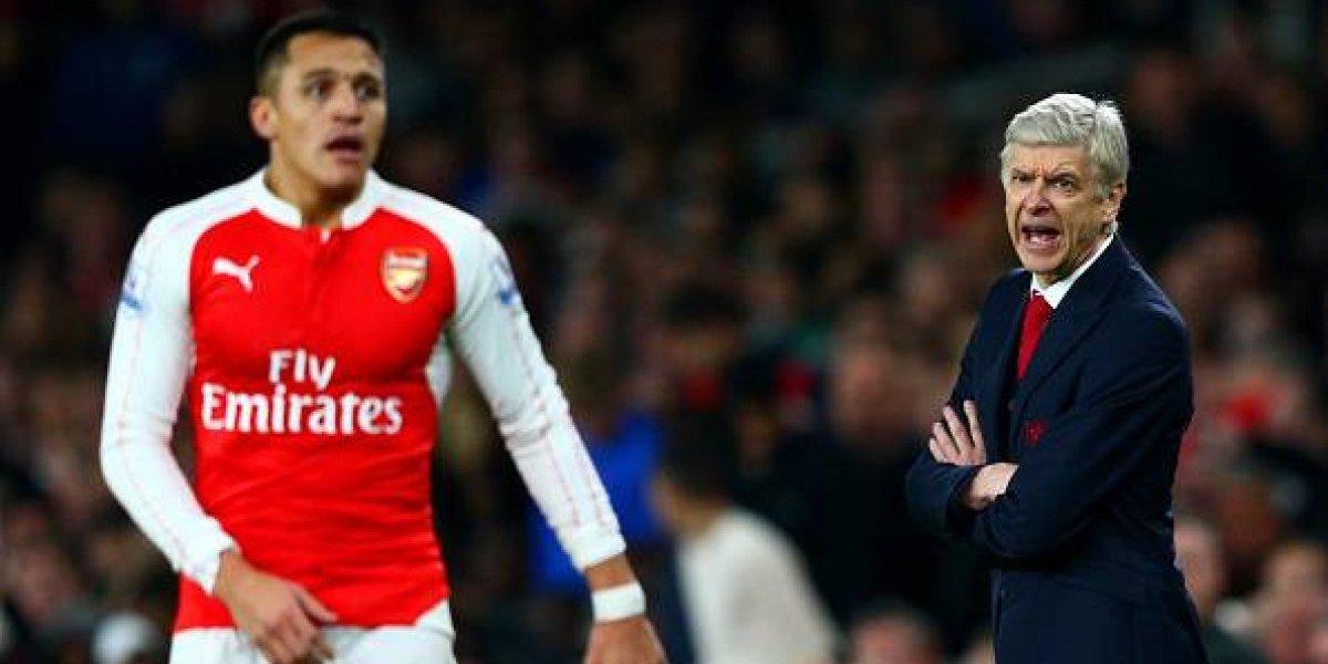 """Wenger defiende a Sánchez tras evadir examen antidoping: """"Su intención no era esconderse"""""""