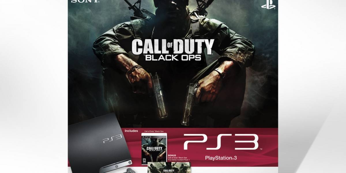 Sony salta tarde al tren con un bundle PlayStation 3 y Black Ops