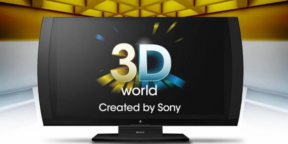 La pantalla 3D de Sony ya tiene fecha