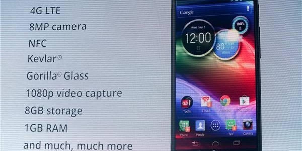 Motorola presenta el RAZR Maxx HD