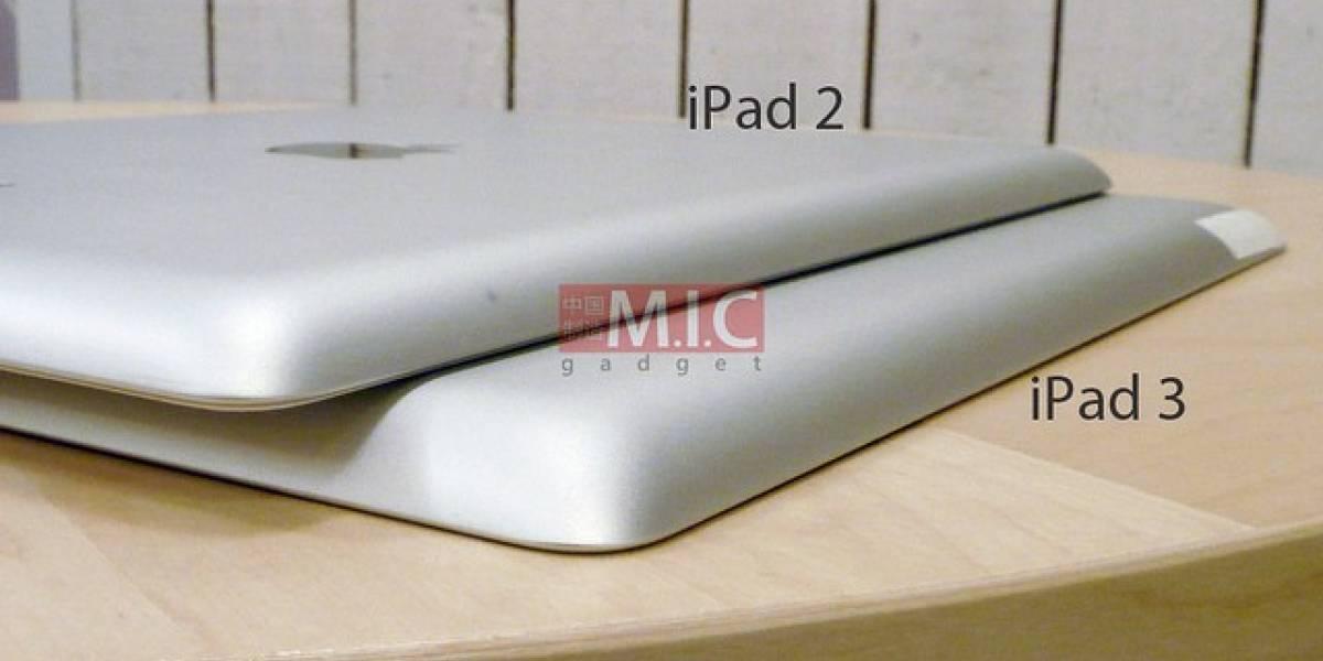 Este es un resumen de los rumores acerca del iPad 3