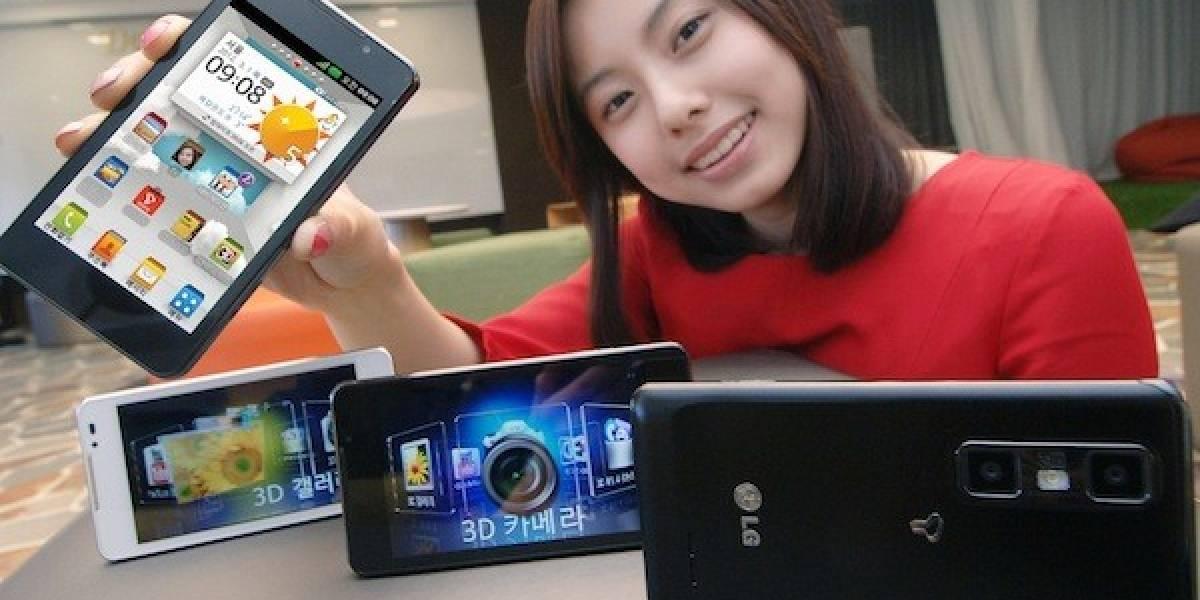 LG 3D Max, la evolución del primer smartphone con pantalla lenticular