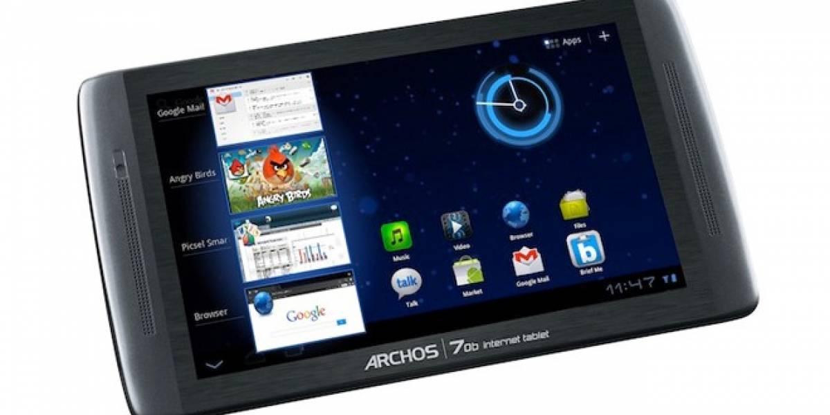 Archos presenta su nueva tableta modelo 70b a USD$199