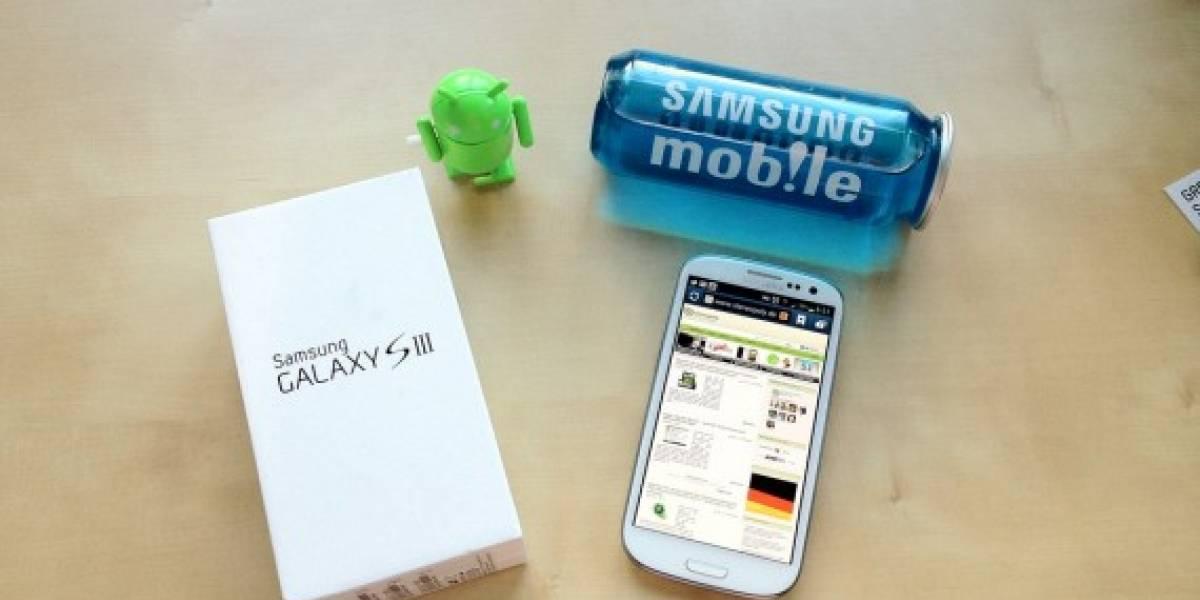 Premian al Samsung Galaxy S III como el mejor teléfono de Europa