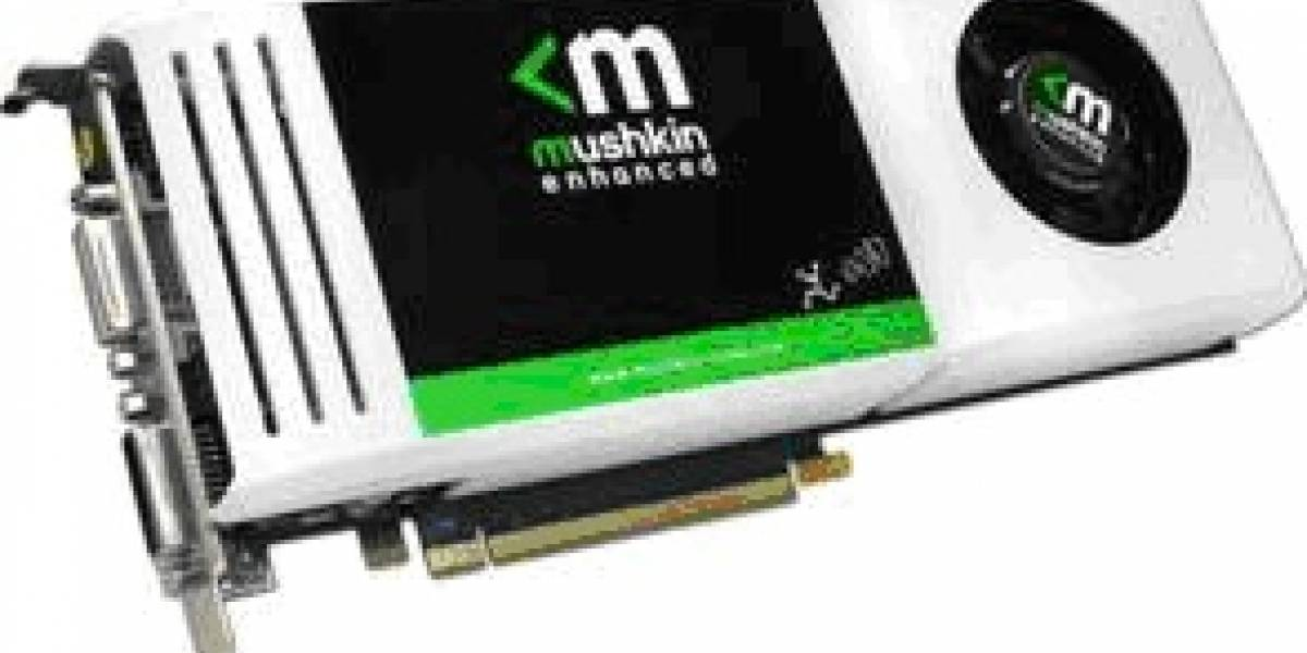 Mushkin muestra su línea de tarjetas de vídeo