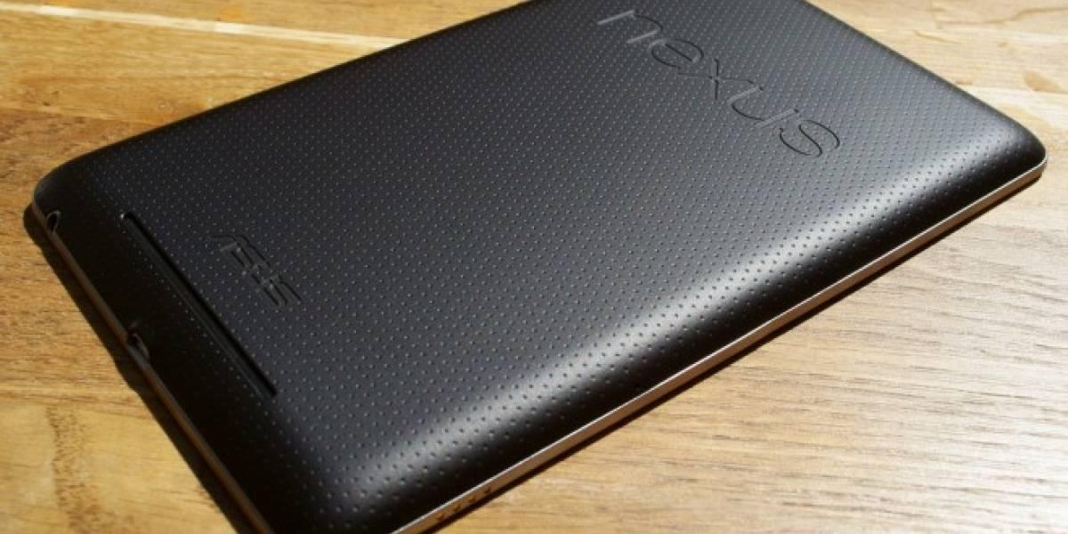 Estrenan comercial del Nexus 7 justo cuando se acaba su stock