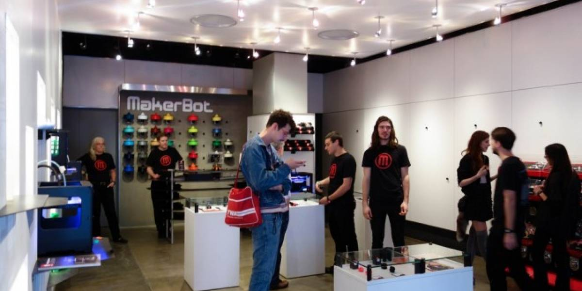 Abren la primera tienda del mundo de impresoras 3-D
