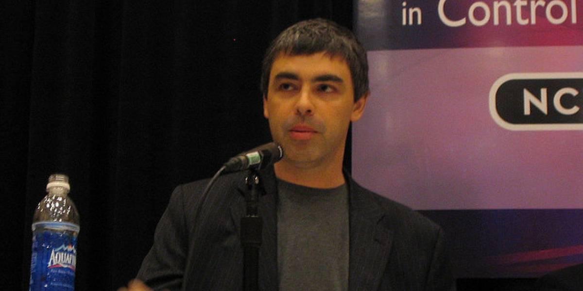 """Larry Page: """"Tenemos que recuperar el espiritu de start-up"""""""