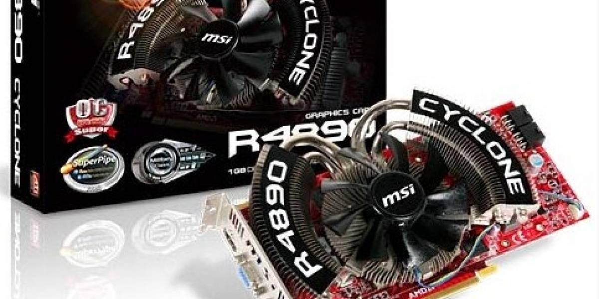 MSI lanza Radeon 4890 Cyclone