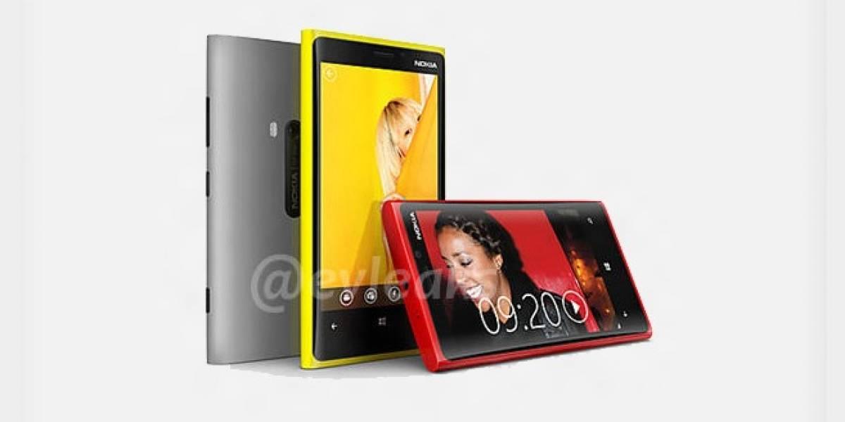Así serían los nuevos Lumia: 820 y 920